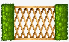 Wooden Fence With Plants Png Clipart Fence Clipart Png Transparent Png 4000x2242 Free Download On Nicepng