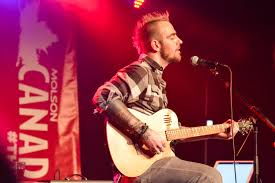 Adam Gontier takes the stage solo in Waterloo - Imprint