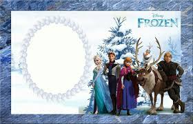 Tarjetas De Cumpleanos Con Frozen Invitaciones Para Imprimir
