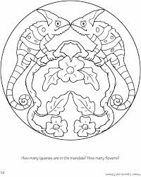 Leer Jij Als Een Kameleon Welcome To Dover Publications Mandala
