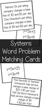20 best systems of equations