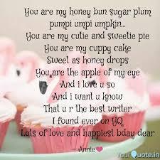 you are my honey bun suga quotes writings by ananya