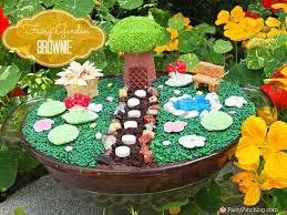fairy cupcakes fairy garden woodland