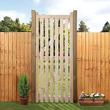 Wickes Open Slatted Tall Timber Gate Kit 990 X 1829 Mm Wickes Co Uk