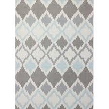 hand tufted light ivory grey area rug