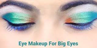 party eye makeup for big eyes by