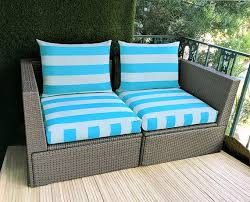 ikea outdoor slip cover turquoise