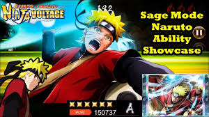 Naruto Uzumaki: Sage Mode Ability Showcase | Naruto x Boruto Ninja Voltage  - YouTube