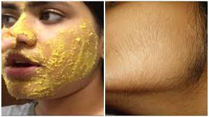 how to remove hair naturally at