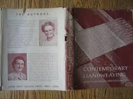 Contemporary Handweaving: Ruth & Smith, Lula Overman, Illustrated ...