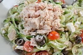 Greek Tuna Salad Recipe With Cucumber ...