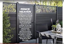 B Q Neva Fence System Backyard Garden Design B Q Fencing Backyard Patio