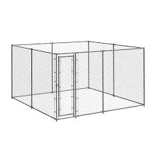 Pet Sentinel 10 Ft L X 10 Ft W X 6 Ft H Kit Pet Kennel In The Dog Pens Runs Department At Lowes Com