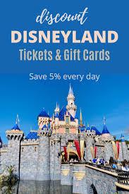 disneyland ticket gift card