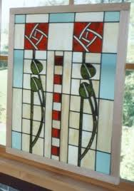 custom made dard hunter stained glass