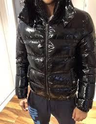 men s versace winter jacket ultra shiny