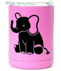 Elephant Animal Yeti Decal Die Cut Vinyl Car Decal Sticker Etsy