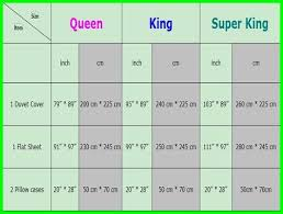 super king size bed sheet dimensions
