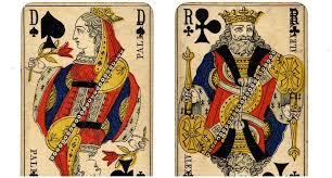 symbols behind playing cards