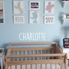 Vinyl Wall Art Decal Girls Custom Name Charlotte Custom Text Name Imprinted Designs