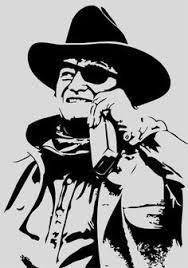 John Wayne As Rooster Cogburn Art John Wayne Pop Art