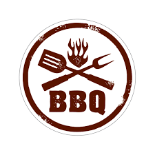 Printed Vinyl Bbq Barbecue Sign Stickers Factory