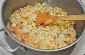 Bow Tie Shrimp Pasta Recipe by Jerri Green