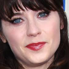 zooey deschanel s makeup photos