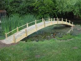 large garden bridge from garden bridge