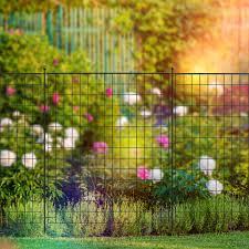 Panacea Large Multi Purpose Grid Fence Panel 1m X 91cm Black Garden Fence Panels Keen Gardener The Online Garden Bbq Centre Keen Gardener