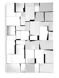 modern wall mirrors fractal mirror