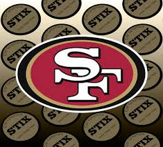 Nfl San Francisco 49ers Vinyl Graphic 7 Year Outside Vinyl Decal Sticker