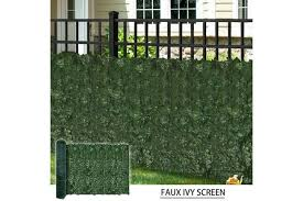 Dick Smith Artificial Ivy Leaf Hedging Privacy Screen Shade Cloth Backing 3m X 1m Roll Floral Decor