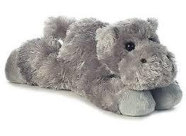 "Aurora Howie HIPPO 8"" Flopsie Plush Floppy Stuffed Animal NEW   eBay"