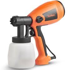 Vonhaus Electric Paint Sprayer Spray Gun For Painting Fences Decking Walls 5056115708596 Ebay
