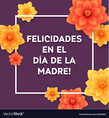 Happy mothers day spanish greeting card ...