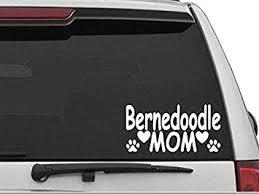 Amazon Com Decal Dan Bernedoodle Mom Vinyl Die Cut Car Truck Window Decal Sticker Laptop Automotive
