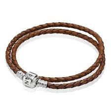 bracelets pandora leather bracelet