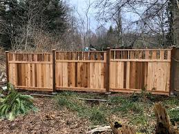 6x8 Valley Top Fence Panel Installed To Wild West Fencing Facebook