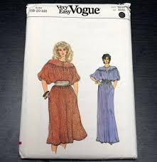 boho vogue pattern 8452 sz 28 pullover