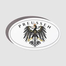 Preussen Prussia Eagle Coat Of Arms Car Magnet Zazzle Com