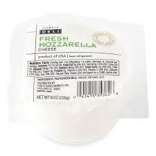 publix deli fresh mozzarella cheese