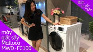KIMQUOCTIEN.COM I Máy giặt kết hợp sấy Malloca MWD-FC100 cao cấp - YouTube