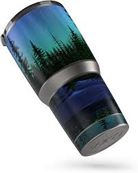 Amazon Com Aurora Protector Skin Sticker Compatible With Yeti Rambler 30oz Tumbler Ultra Thin Protective Vinyl Decal Wrap Cover