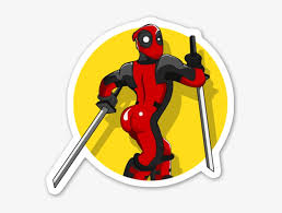Deadpool Sticker Deadpool Stickers Transparent Png 600x569 Free Download On Nicepng