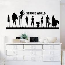 One Piece Strong World Vinyl Wall Art Decal