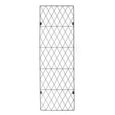 Screen Panel Mtl Garden Trend 112x46cm Sq Top Trellis 3161 I N 3320900 Bunnings Warehouse Trellis Plant Wall Privacy Plants