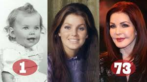 Priscilla Presley | Transformation From 1 To 73 Years Old - YouTube