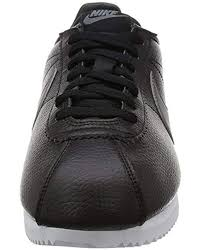 classic cortez leather running shoes