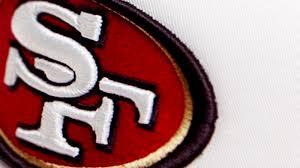 sf 49ers nfl team logo close up